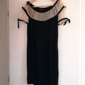 BETSEY JONHSON BLACK DRESS SIZE SMALL